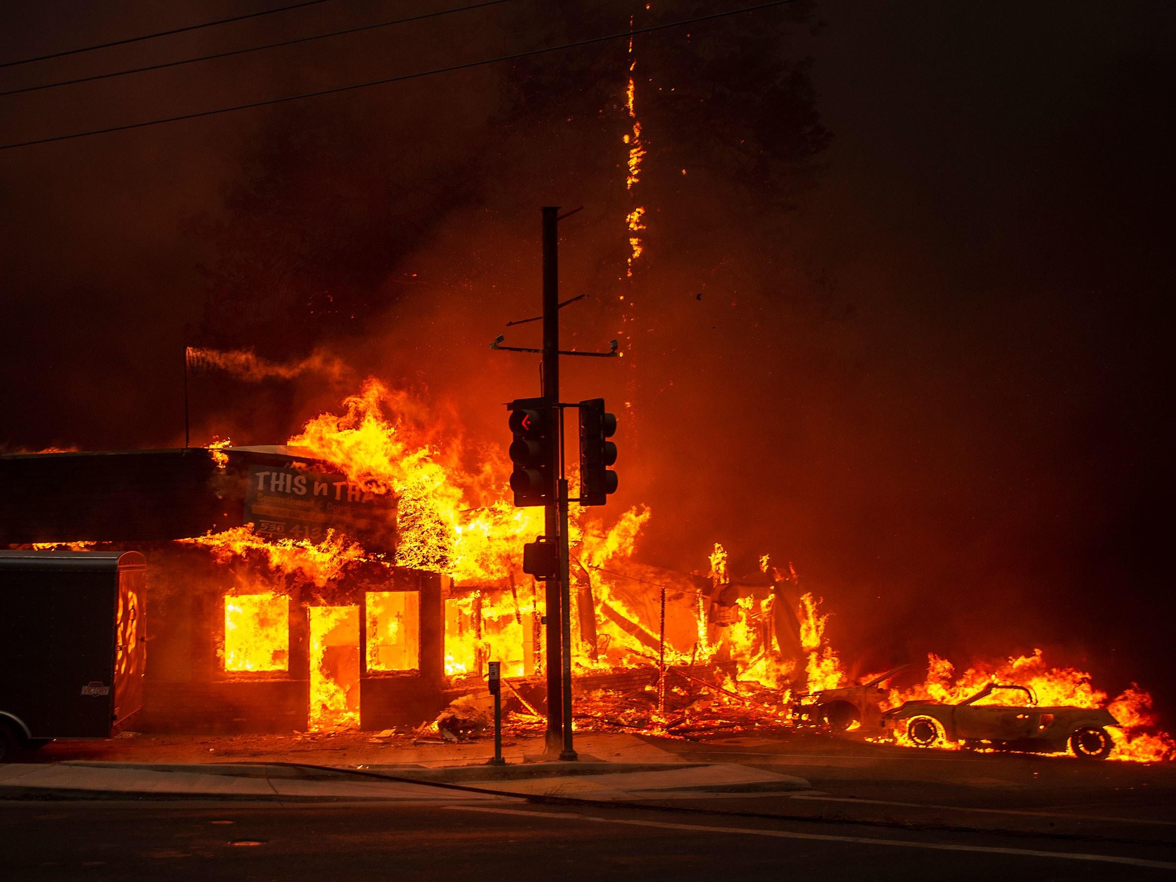 the terrifying science behind california u2019s massive blaze